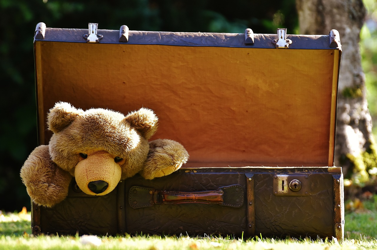 Let's be real, my teddy always makes the cut for long-term travel! Save space for what matters to you!