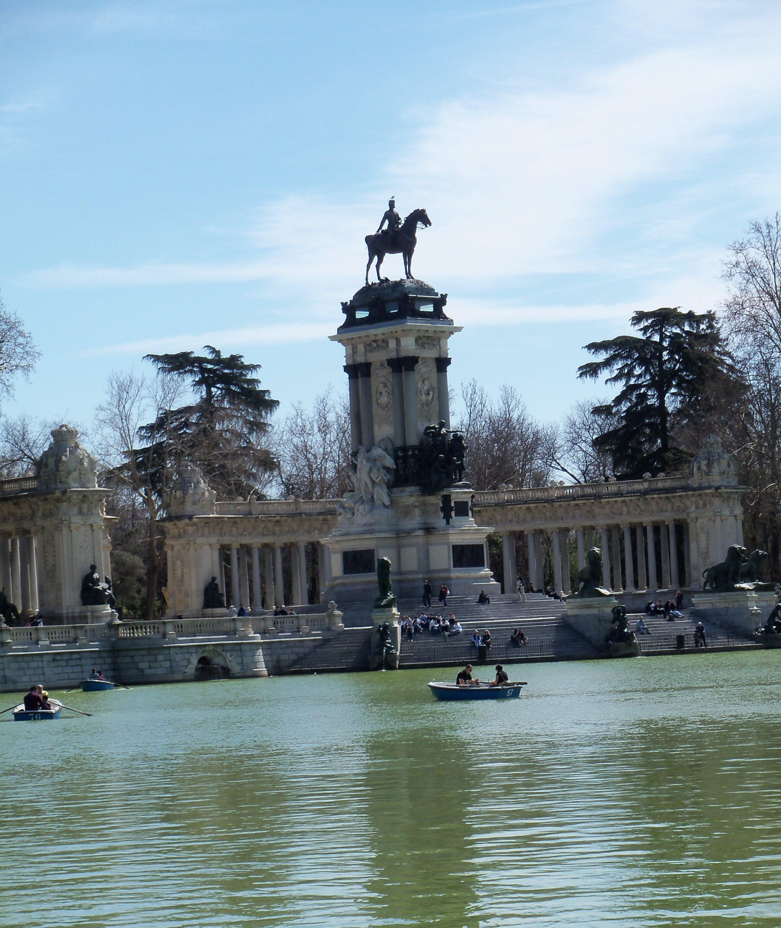 Retiro Park, Madrid.
