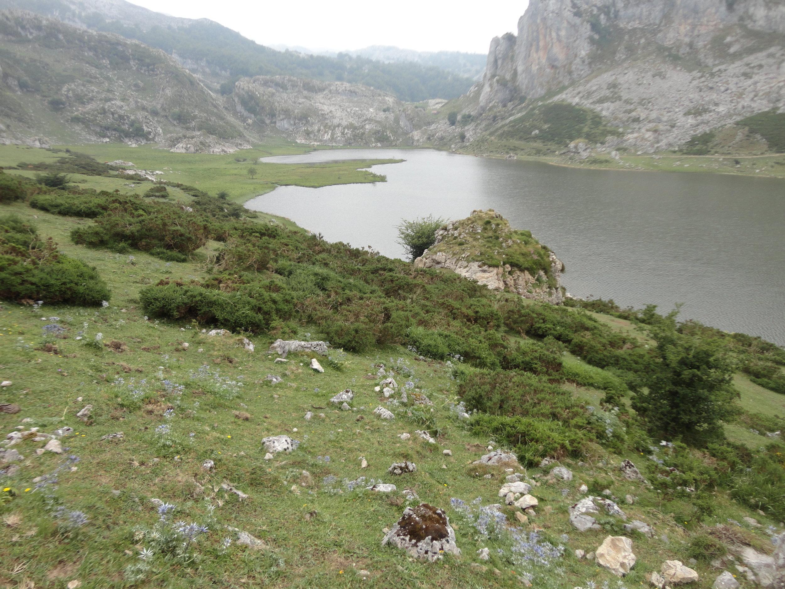 Mountains in Asturias.