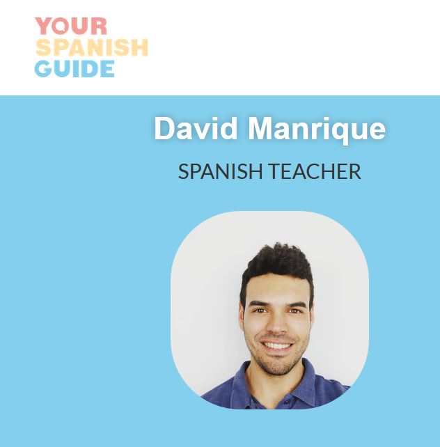 David creates podcasts specifically for Spanish language-learners.