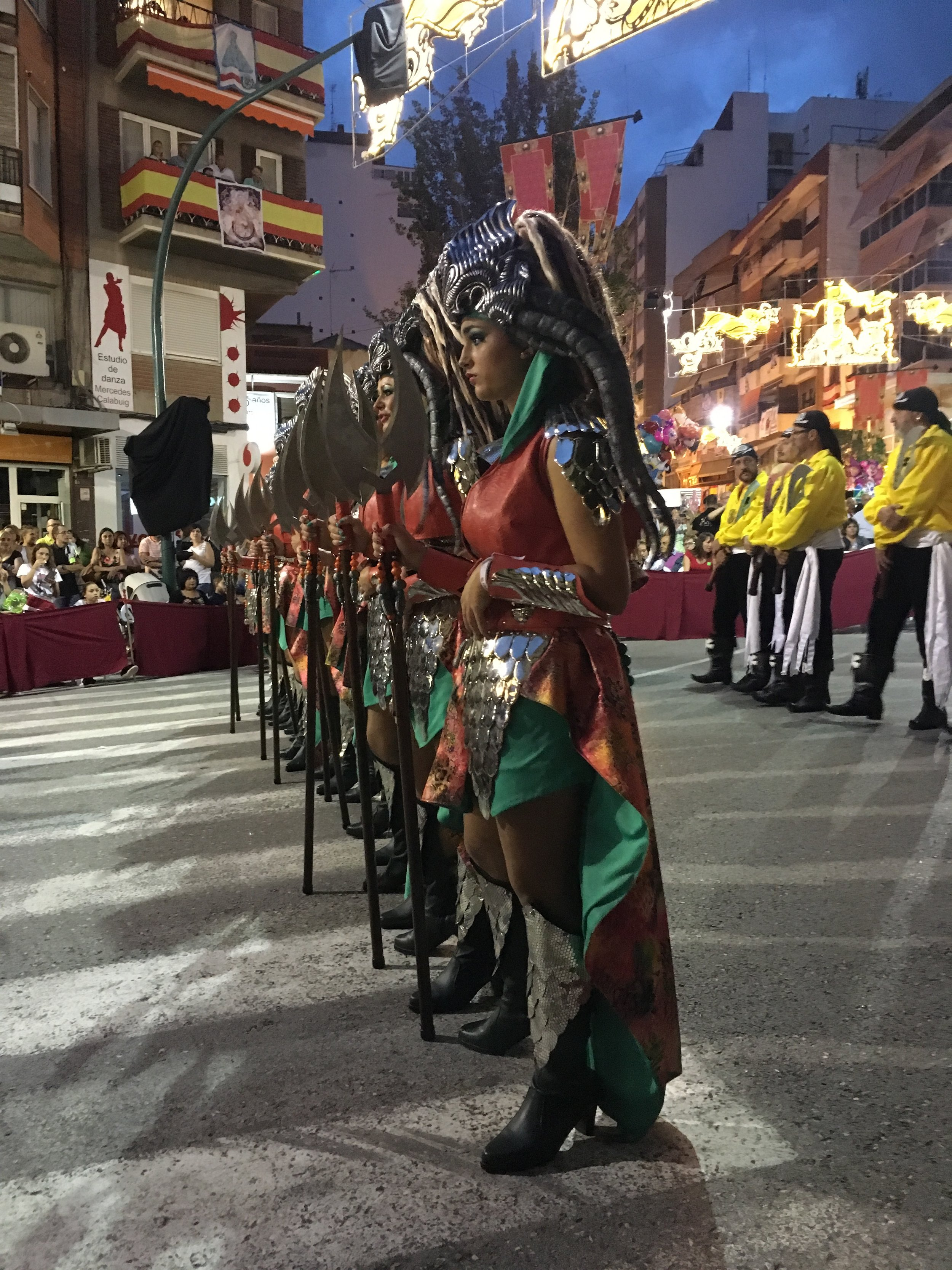 Traditional in Villena, you will find the Moors and Christian festival.