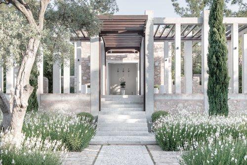 Arrival Pavilion Entrance