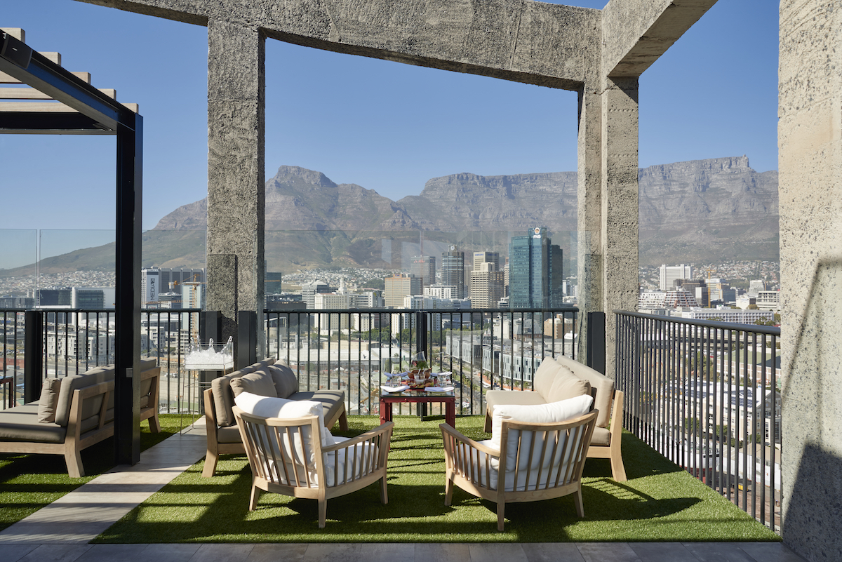The Silo Hotel, V & A Waterfront, Cape Town, South Africa. Client: The Royal Portfolio. Photographer: Mark Williams