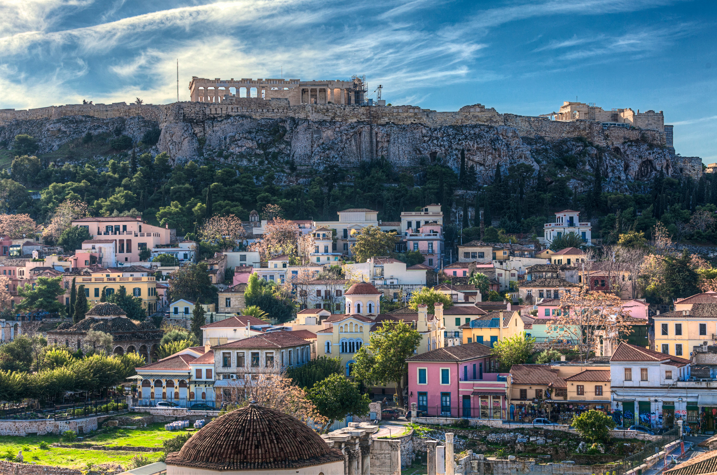 Acropolis in Athens, Greece