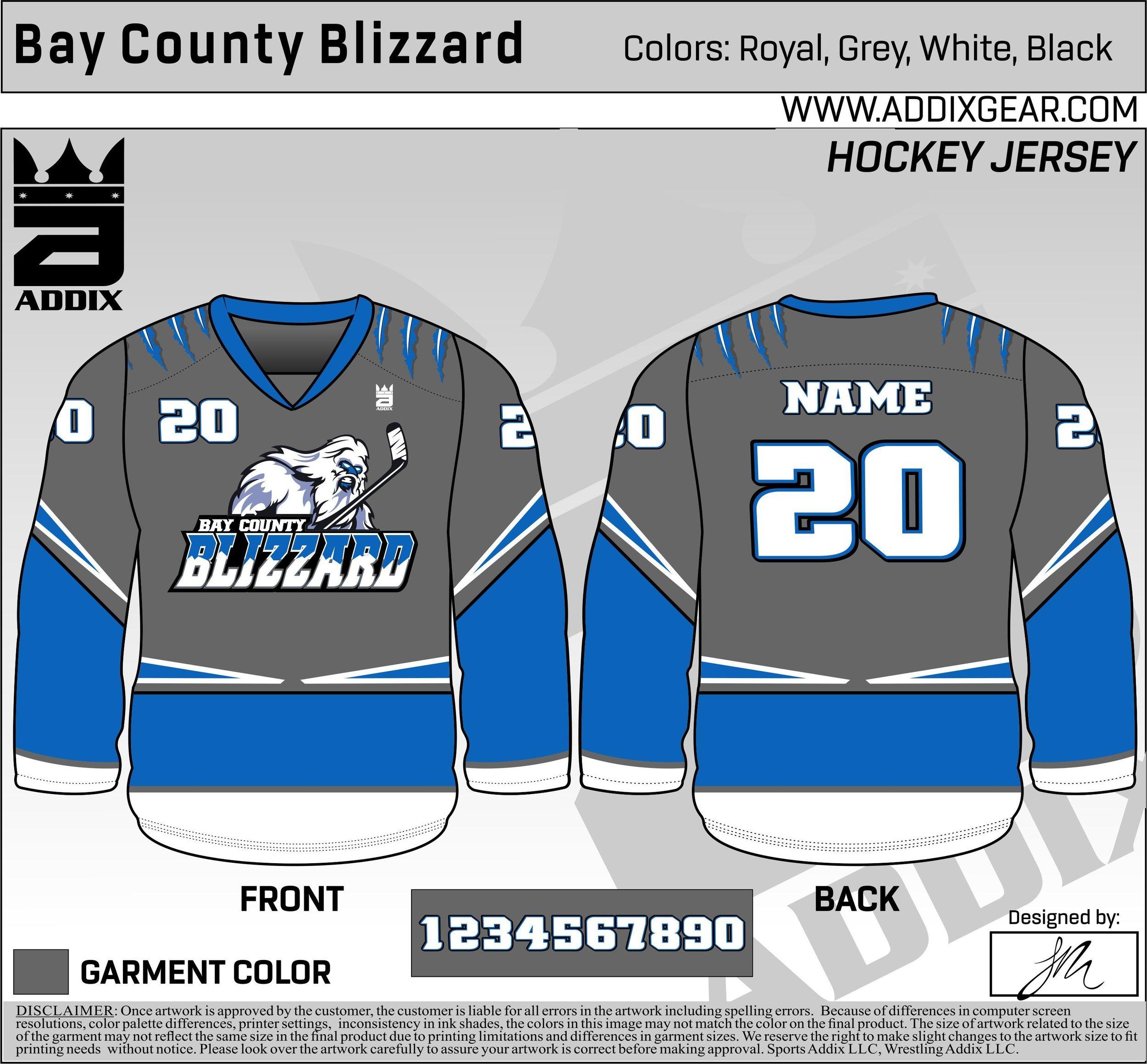 hockey jersey colors