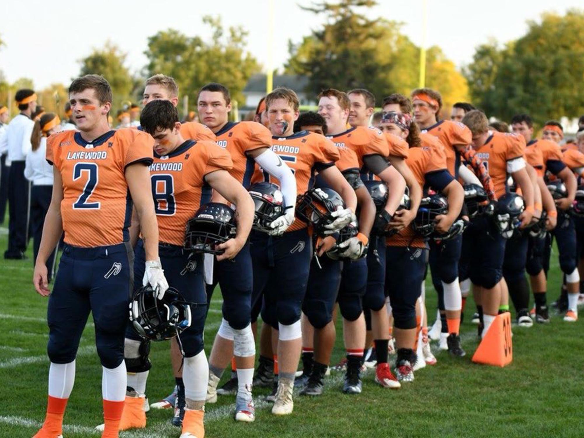 Lakewood High School Football Cause Game Jerseys