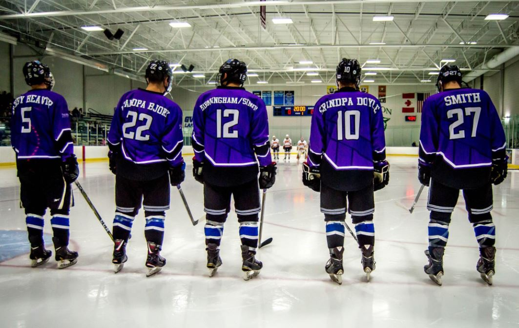 Grand Valley State University Custom Hockey Jerseys