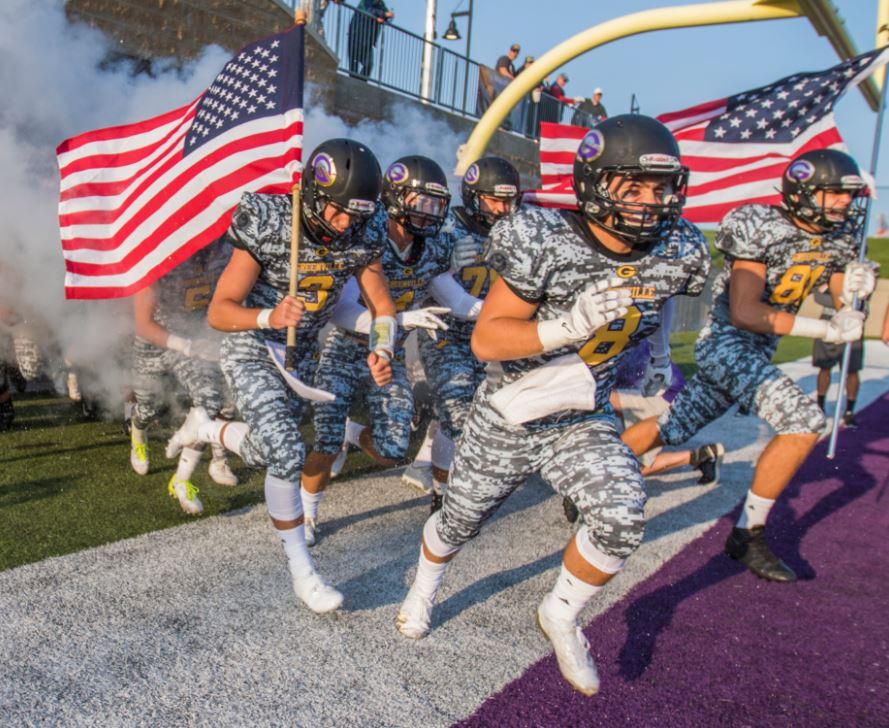 Greenville Custom Military Camo Football Jerseys