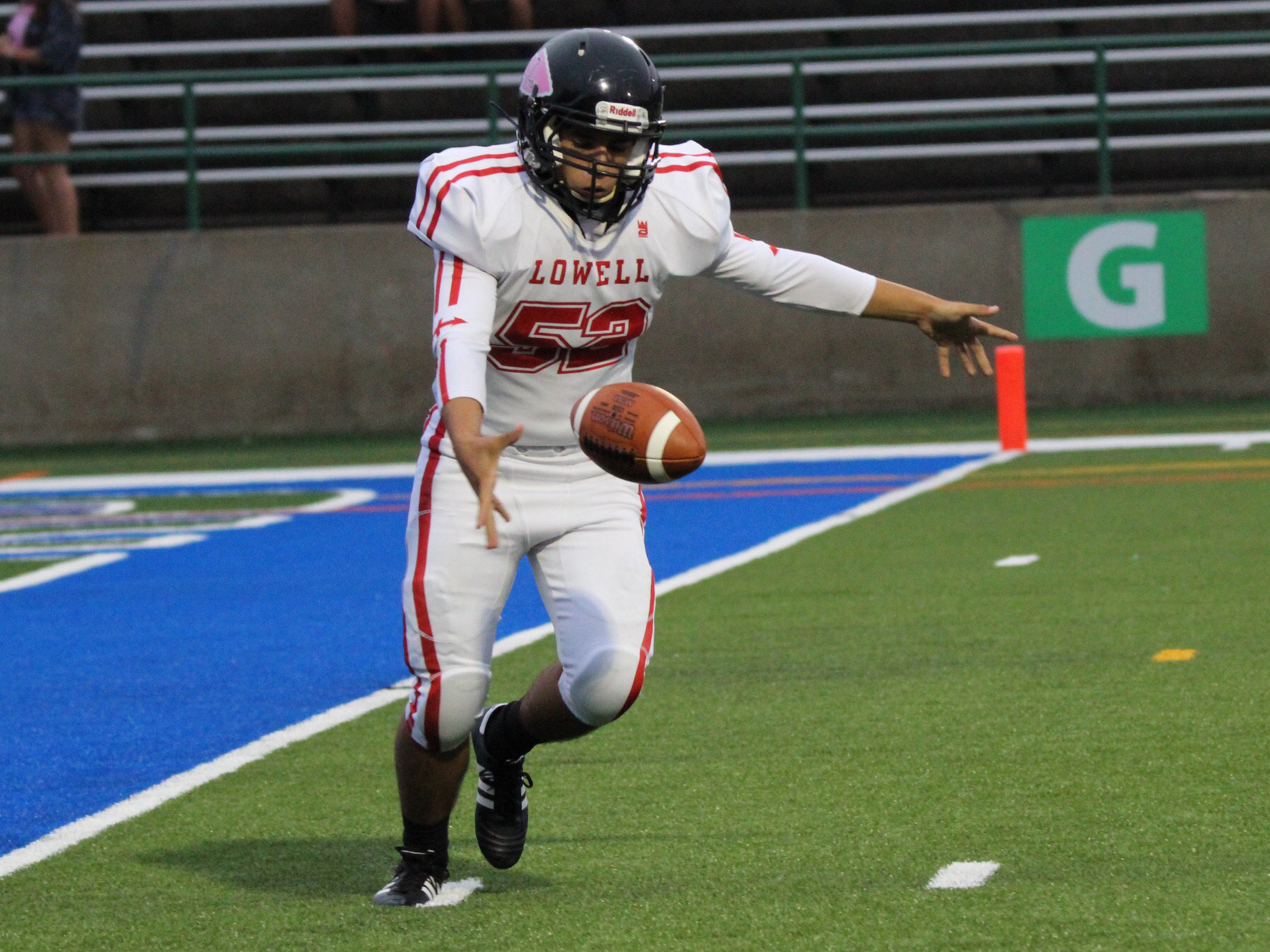 Lowell Red Arrows High School Football Uniforms