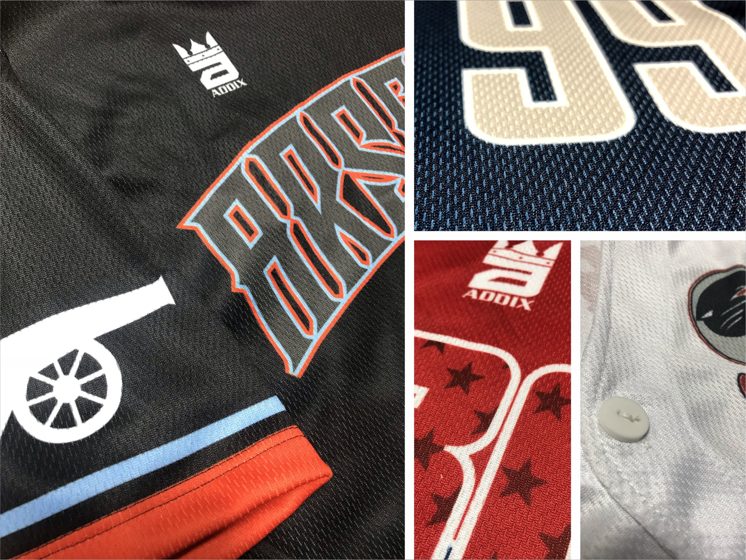 Custom Baseball Jersey Fabric