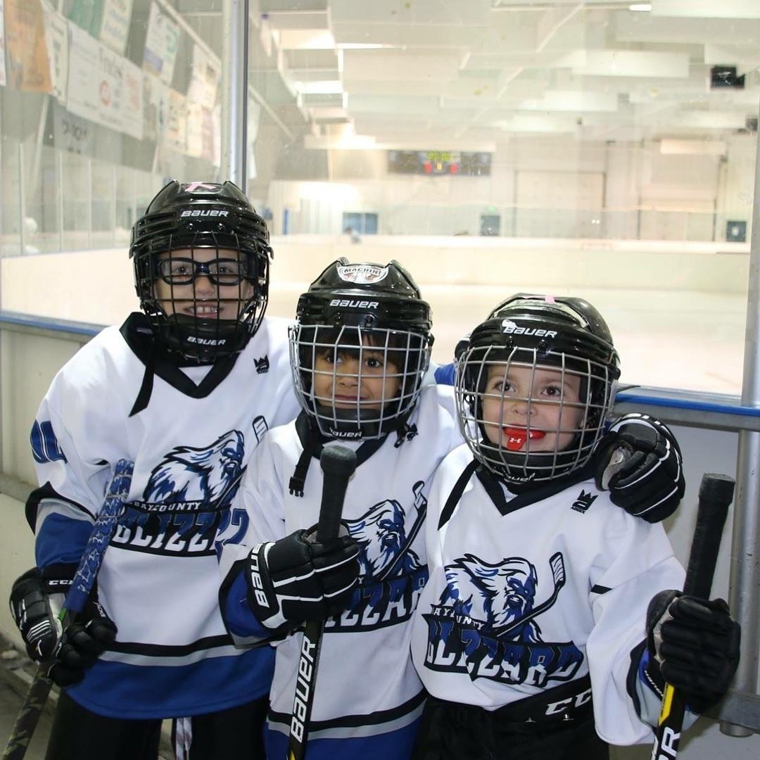 Bay County Blizzard Custom Hockey Jerseys