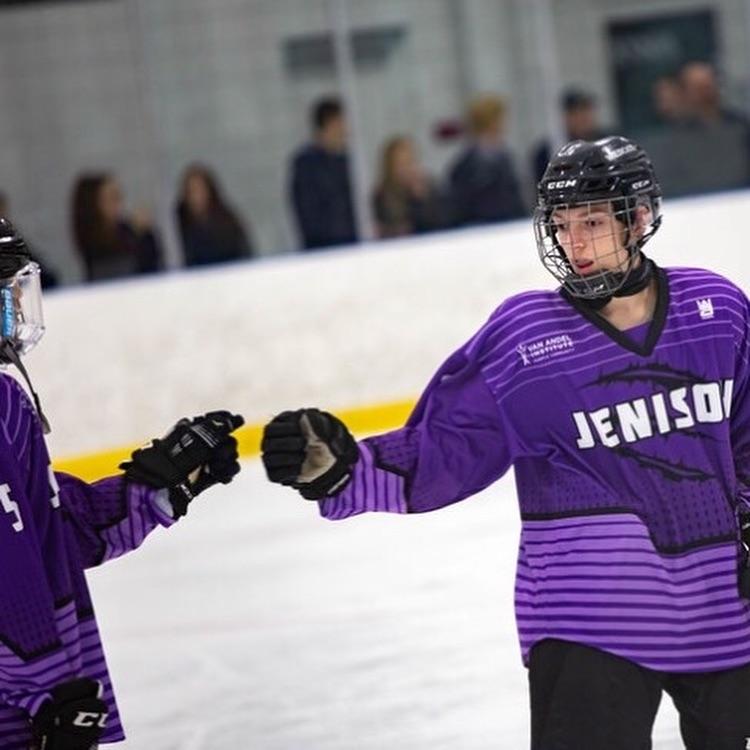 Jenison High School Custom Hockey Jerseys