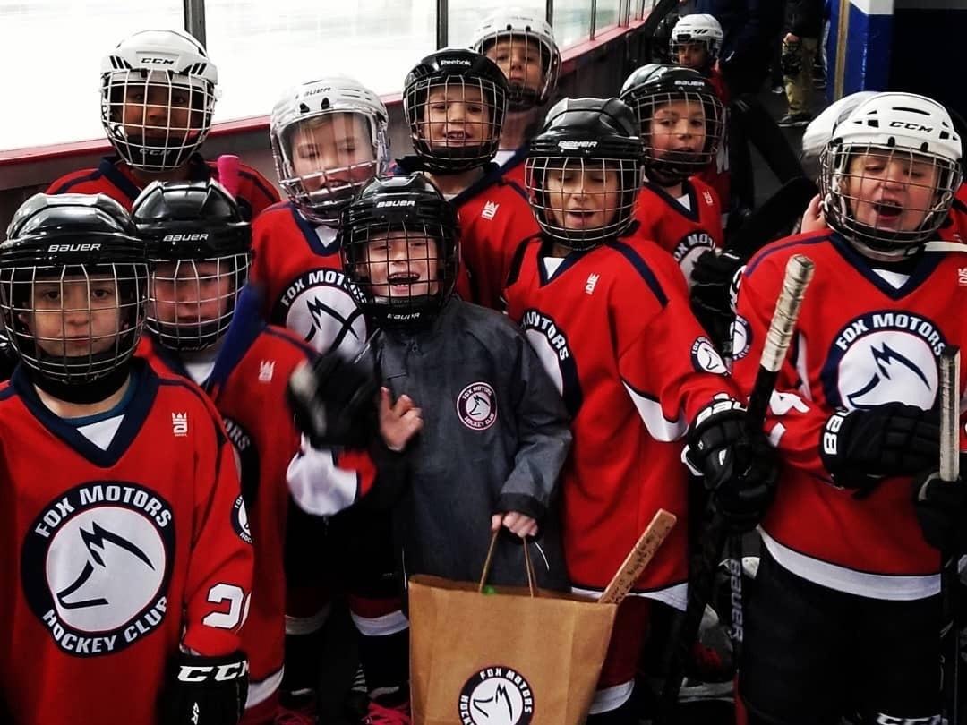 Fox Motors Hockey Custom Hockey Jerseys