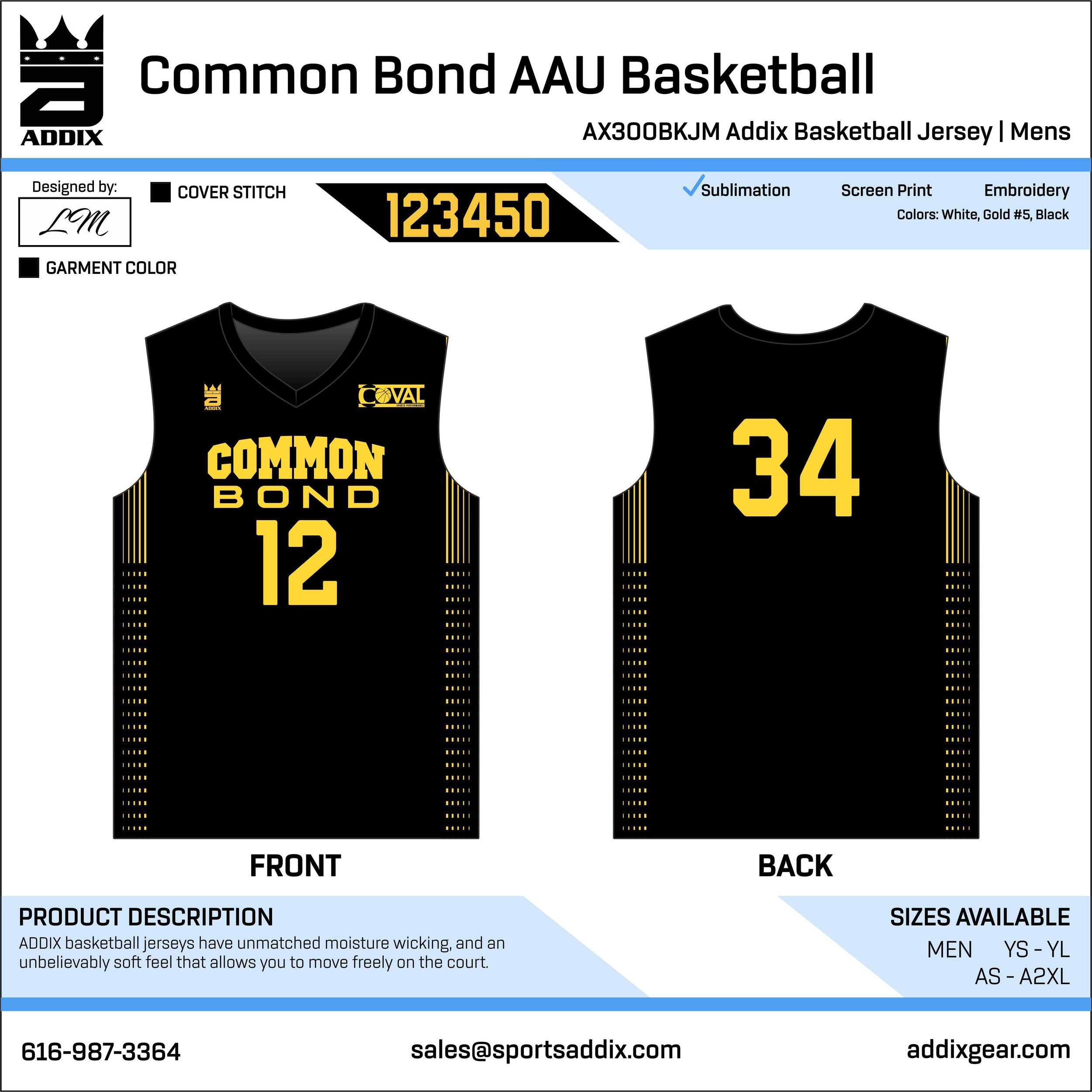 3392c0be3e1 BASKETBALL JERSEYS — ADDIX Custom Team Gear
