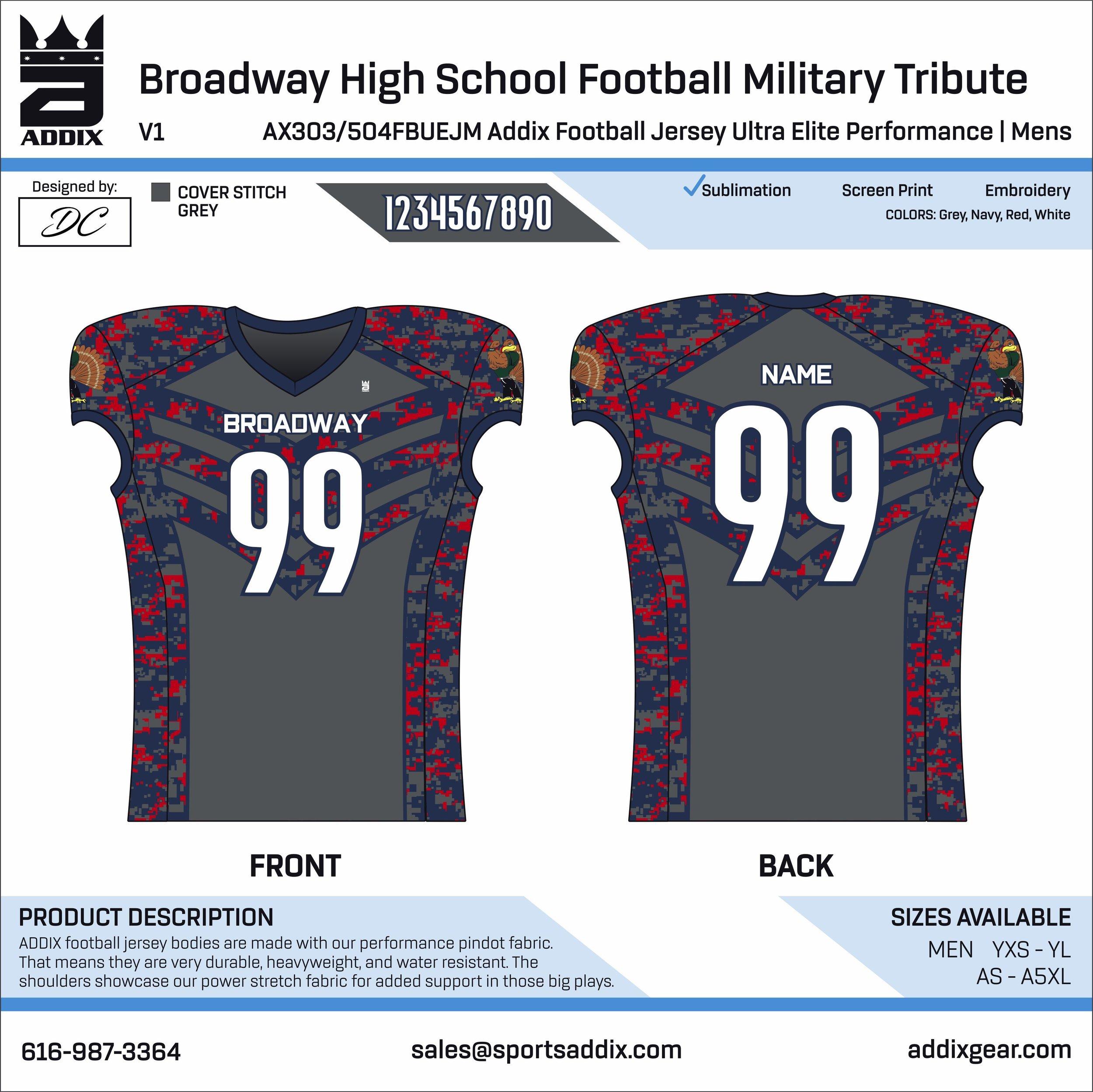 Broadway High School Football Military Tribute_2019_8-14_DC_UEP Jersey.jpg
