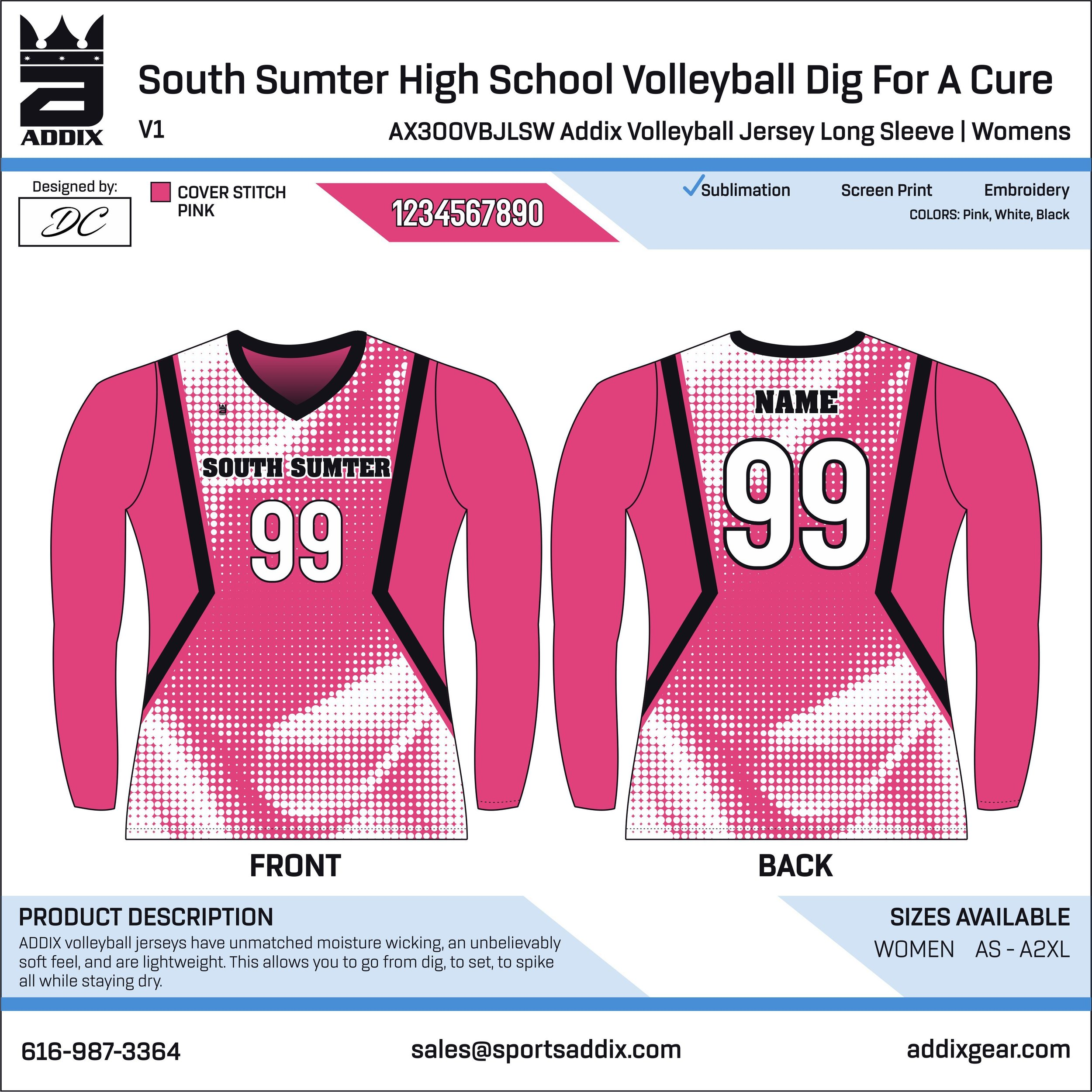 South Sumter High School Volleyball Dig For A Cure_2019_8-20_DC_LS Volleyball Jersey.jpg