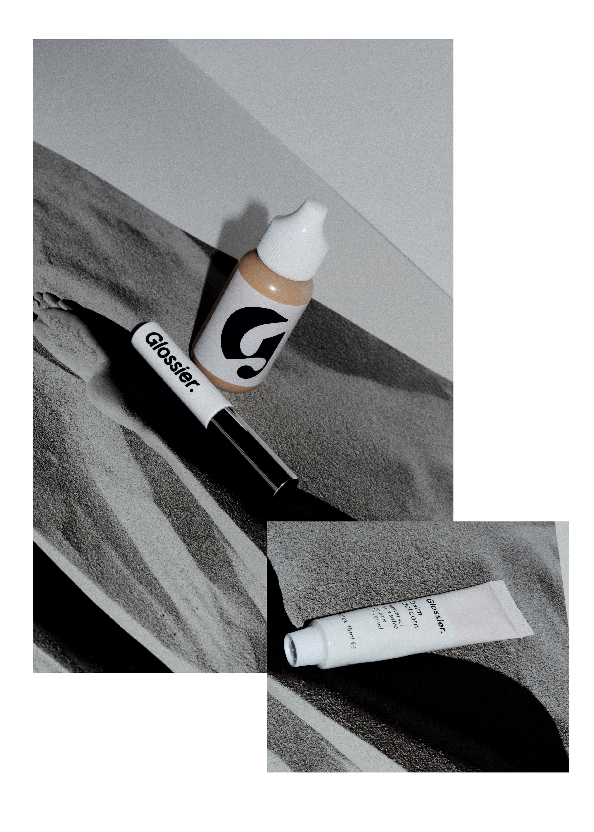 - Glossier has been one of the star brands of 2017, without a doubt. Their celebration of enhancing your own features without having to cover them up, while catering to the girl on the go is everything I love in a brand and more.GLOSSIER SKIN TINT: Ultra light-weight and giving your skin some serious glow, this is the perfect foundation for those, who like me, don't love a heavy layer of makeup. It evens out the skin tone, and gets rid of redness, which is all I look for in a base product. It lets my own skin breath and still be herself!GLOSSIER BOY BROW: Clear, Brown, Black - yeah, I've got them all- and use them EVERY.SINGLE.DAY. It perfectly tames the brows, while plumping them and providing a soft, and never crunchy hold. I own about 5 and you will never catch me without it.GLOSSIER OG BALM DOTCOM: Although not technically a makeup item, I pretty much quit lipstick in 2017, so having soft and supple lips was a MUST for me. I've