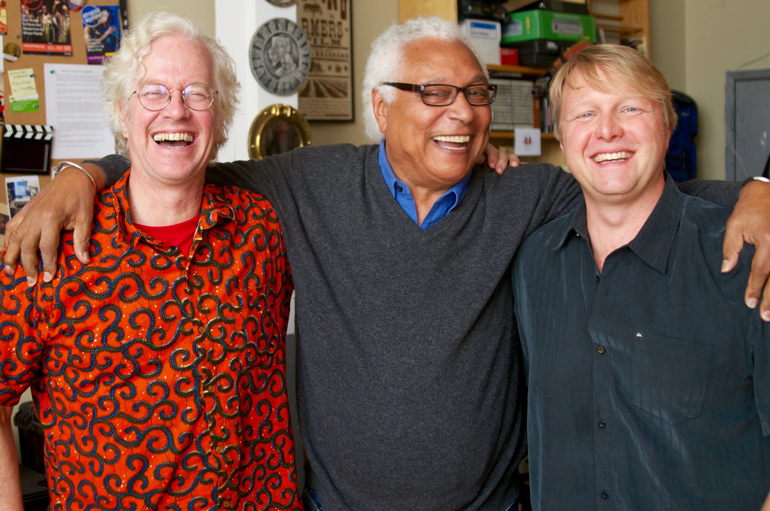 Banning Eyre, Georges Collinet, Michael Jones