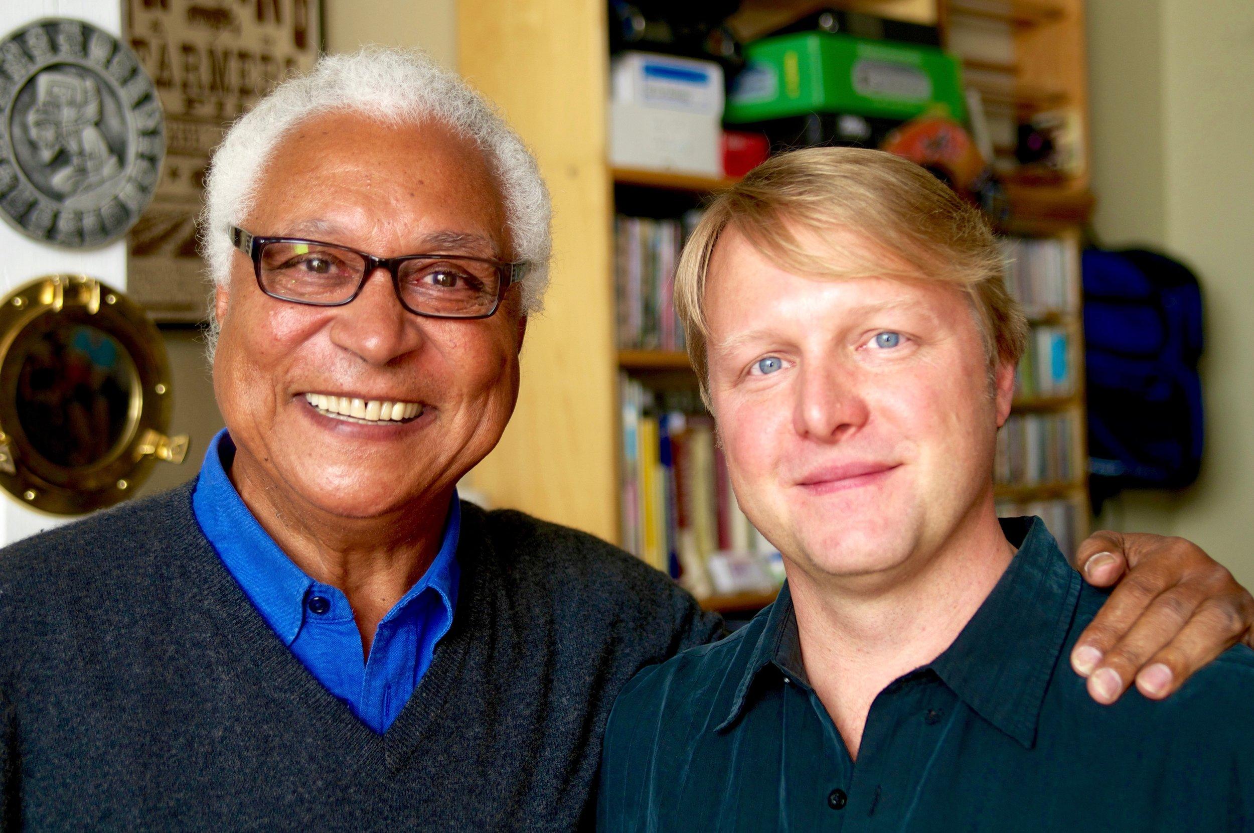 Georges Collinet and Michael Jones