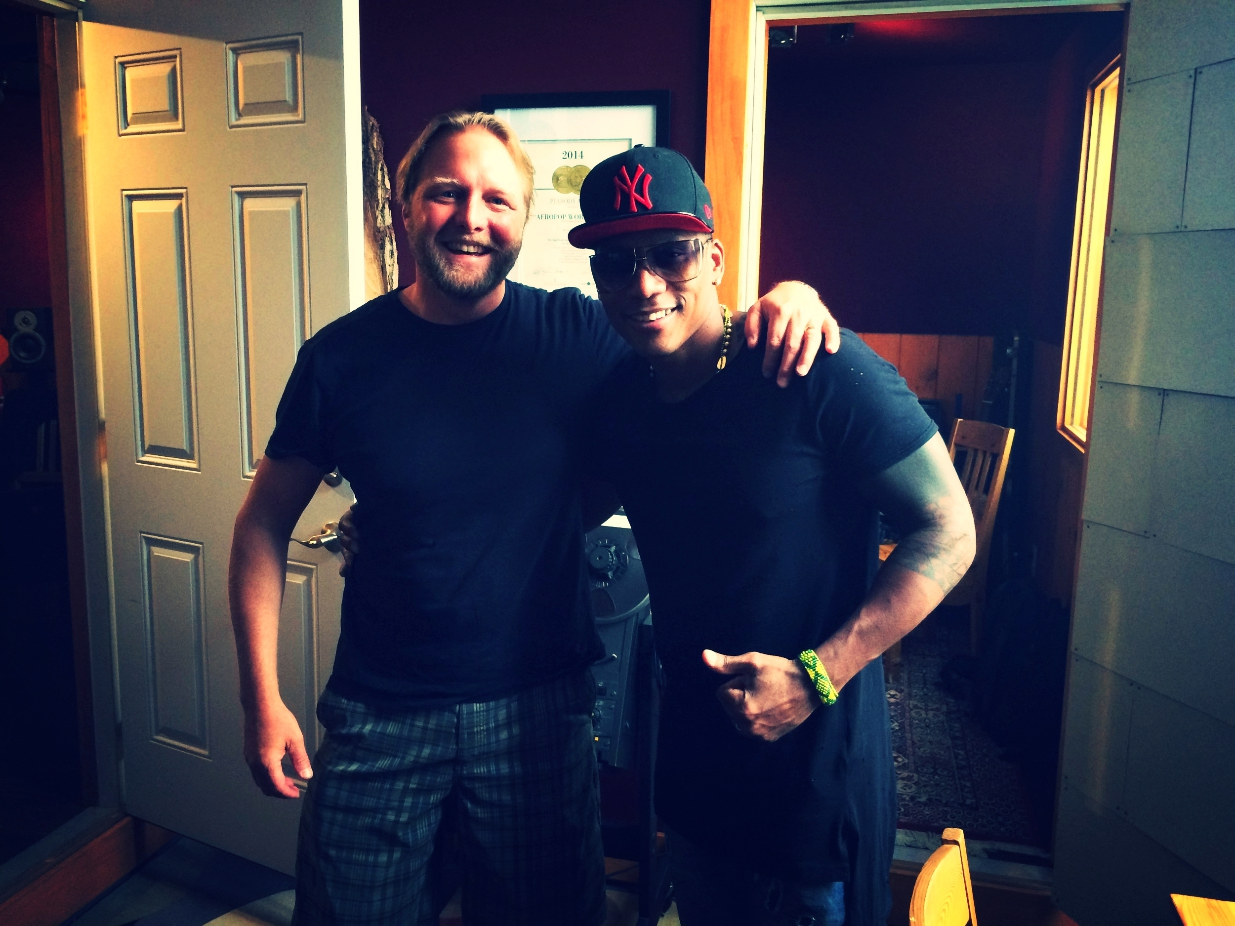Michael Jones and Pedrito Martinez