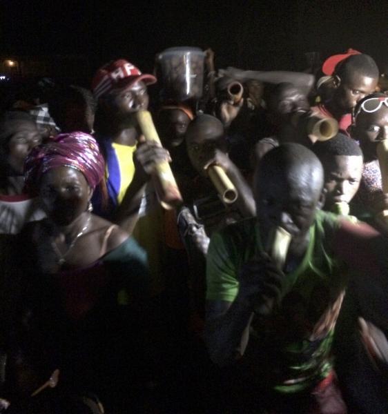 Bubu musicians in Sierra Leone