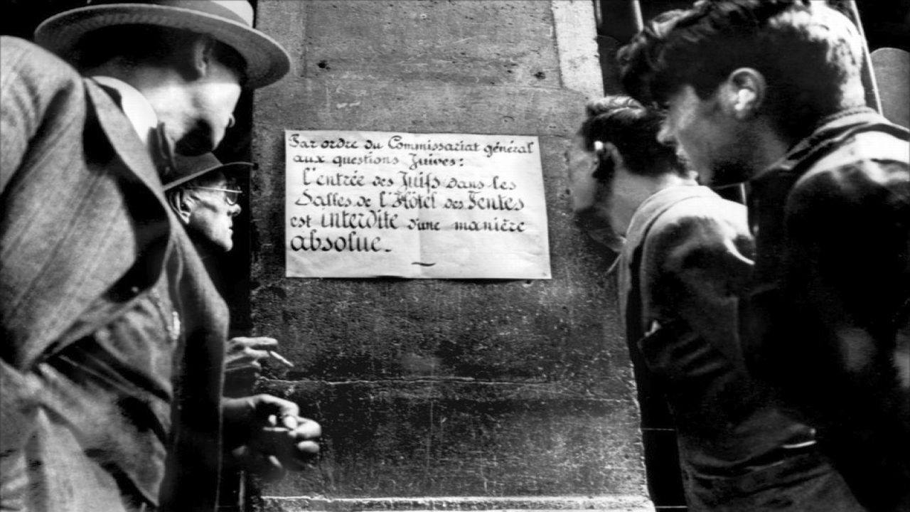 Paris, 1938, another landmark on the history of the Vichy government is Marcel Ophuls' 1969 two part documentary, Le Chagrin et La Pitie ( The Sorrow and The Pity)