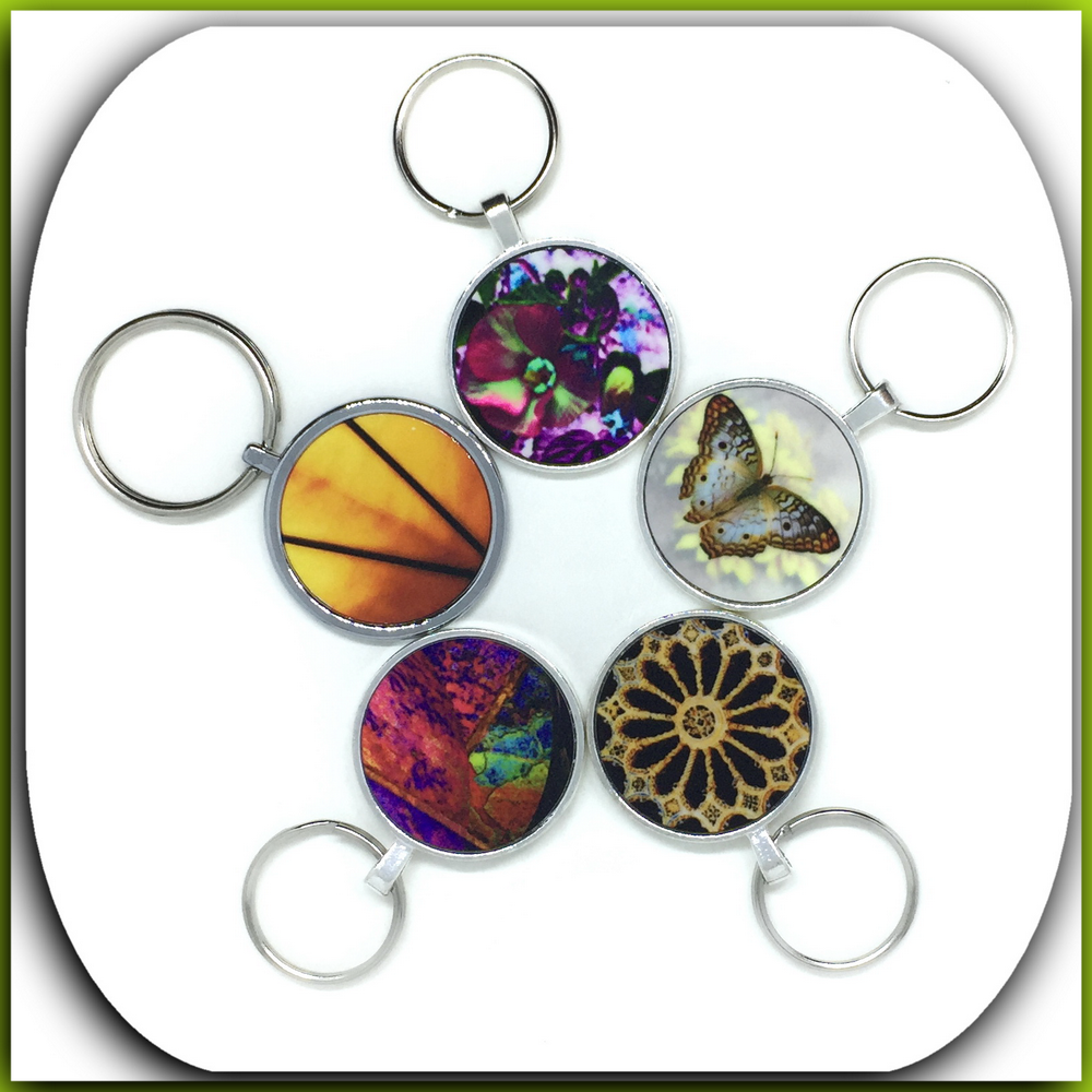charms, purse pulls, keychains      original photography and design