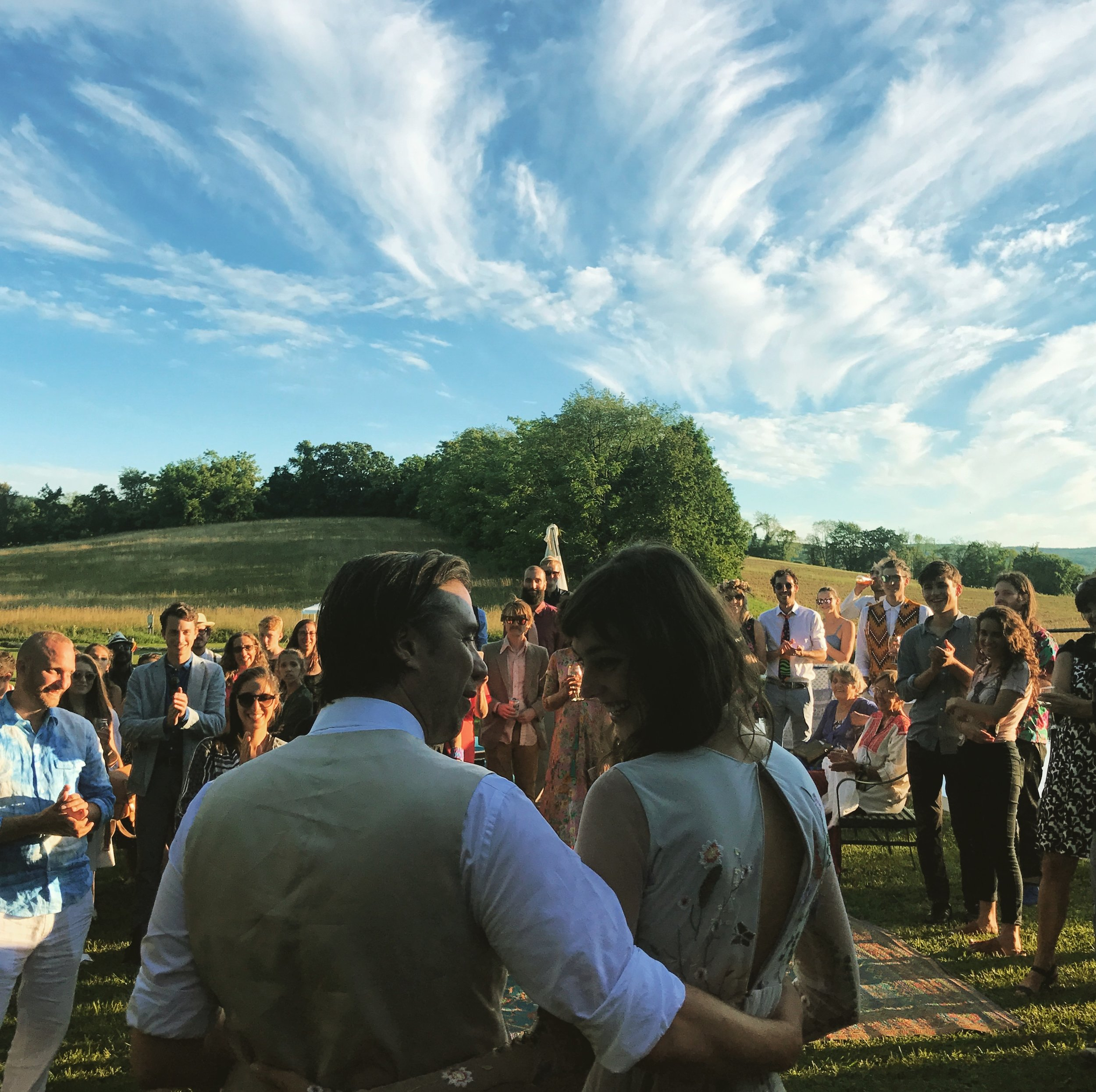 hudson-valley-farm-weddings-pioneer-farm-weddings-warwick-ny-just-married-beautiful-blue-sky.jpg