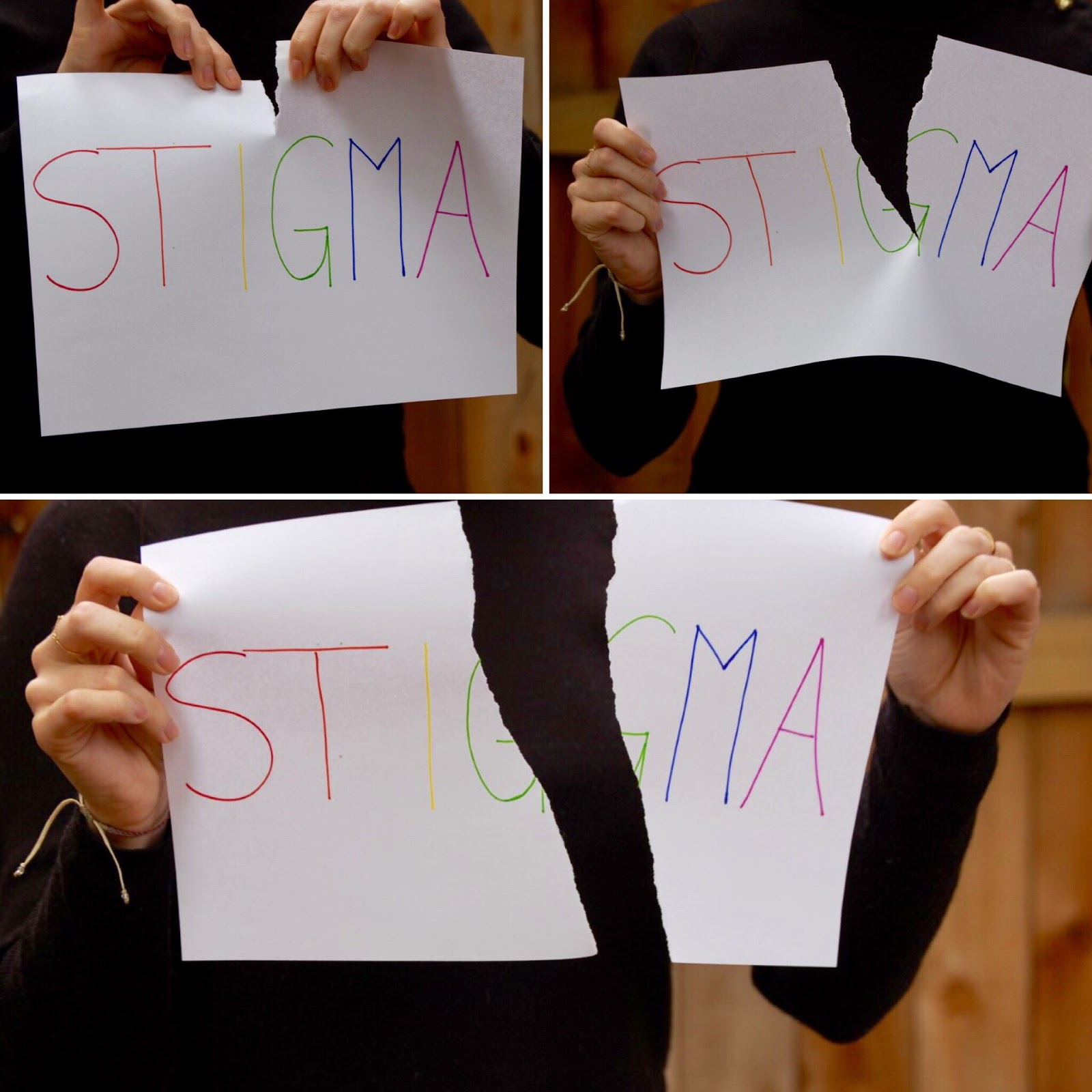 Caption: Stigma will tear us apart if we let it. Say #SoLongStigma with Seleni Institute.