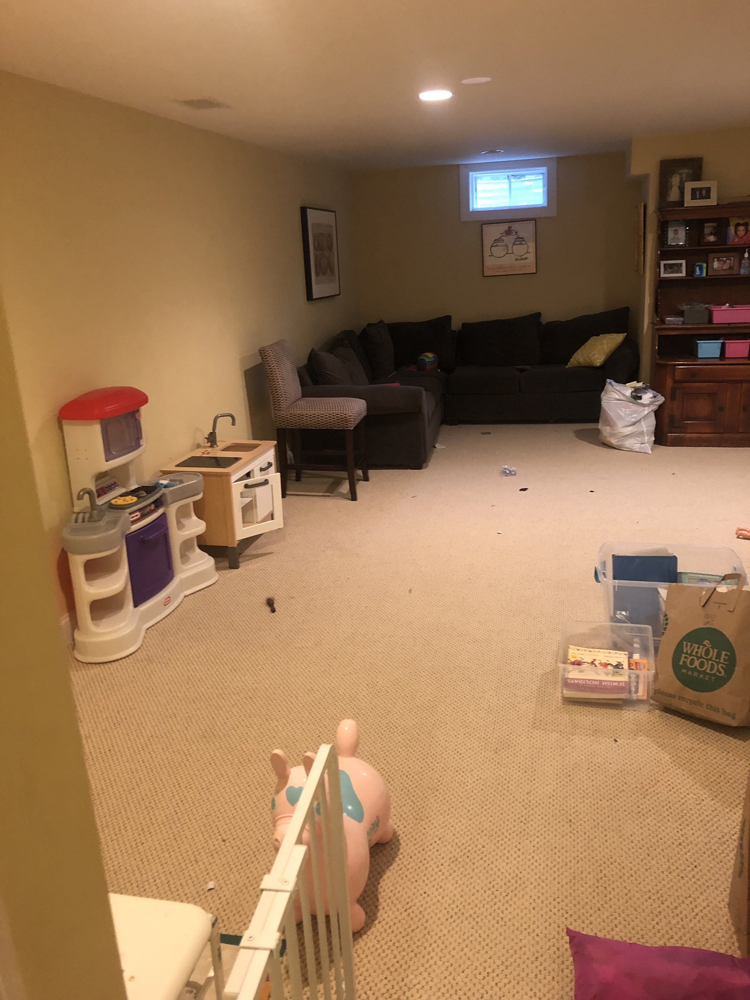 Playroom Before -