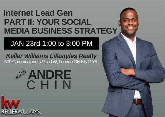 Social Media Business Strategy Andre Chin Keller Williams Lifestyles Realty