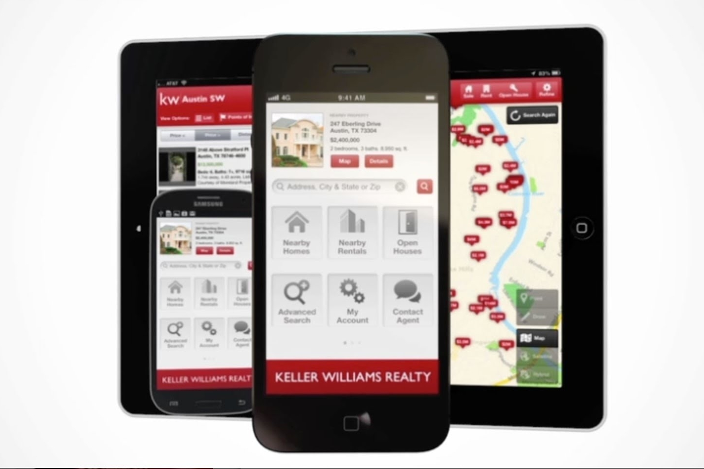 Mobile Property Search App - You and your clients deserve an app that is easy to use, accurate, and allows you to connect with you at the touch of a button. Well, this personally branded app is exactly what you've been looking for.
