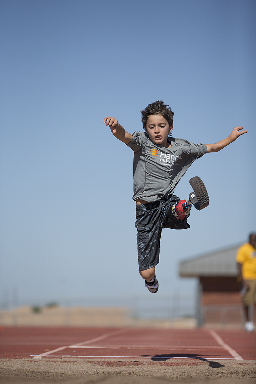 Ezra Frech, the inspiration behind Ampla Partners, leaping to new opportunities.