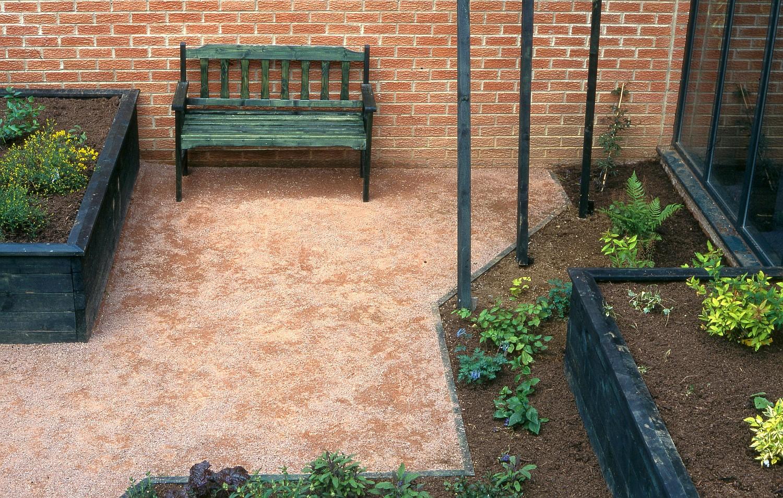 Pocket garden at a respite care centre, Gloucester