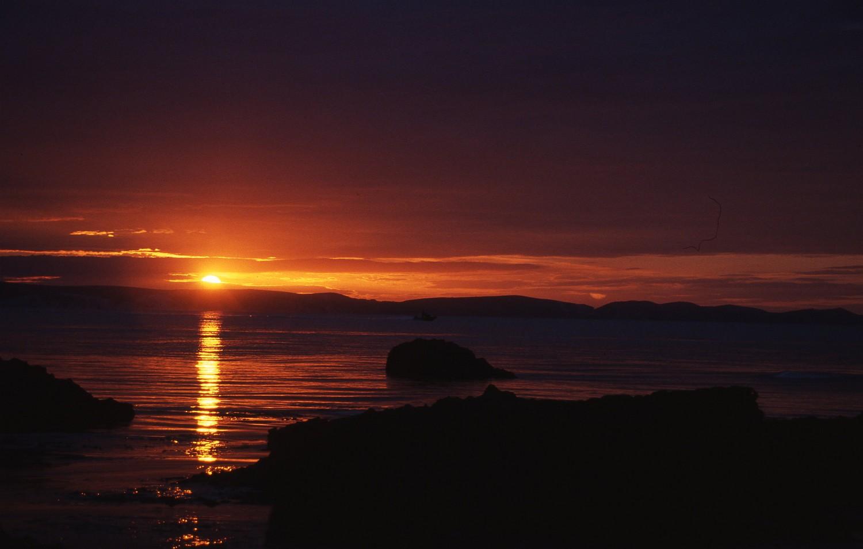 Midsummer sunrise, Portland, Dorset