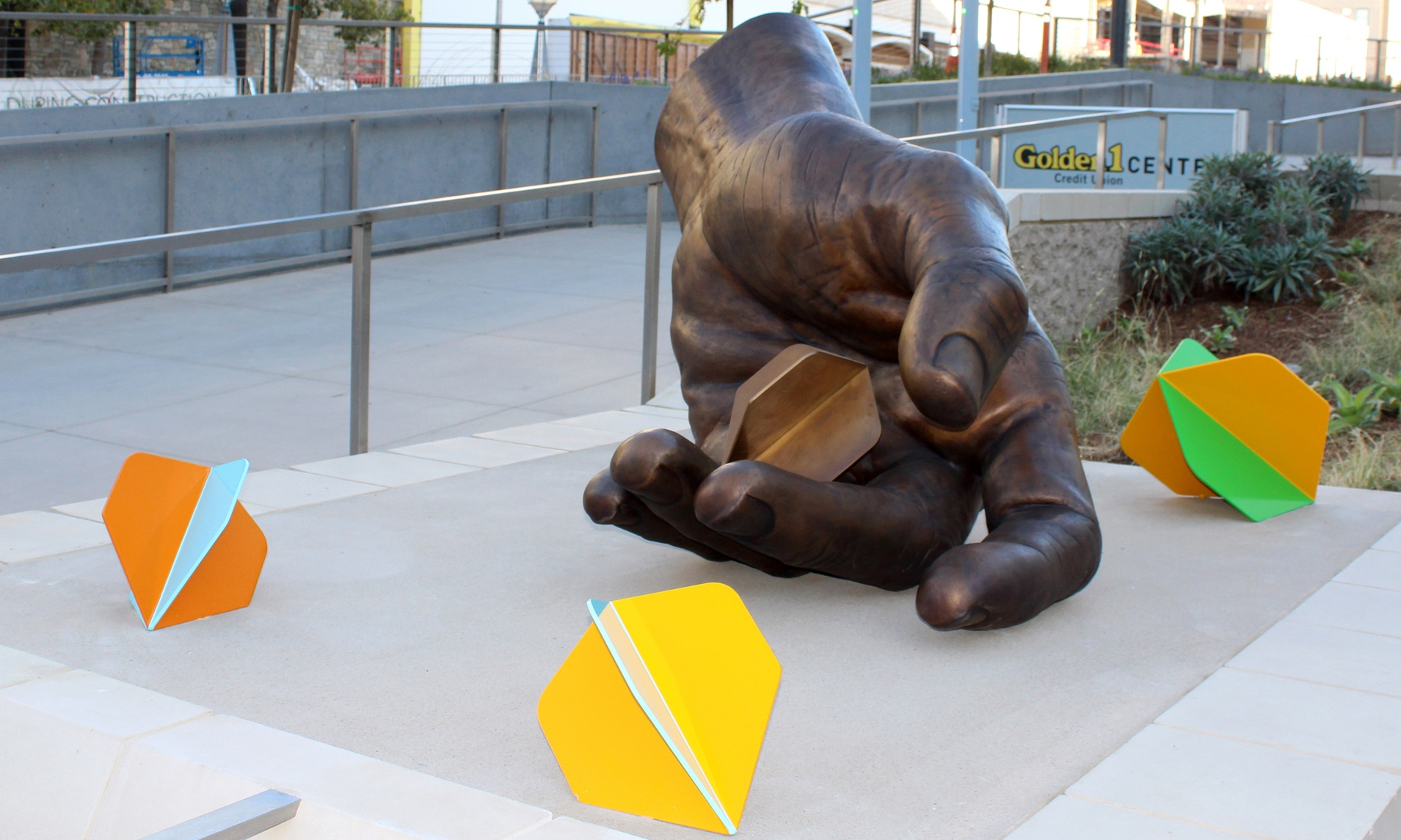Public art installation -