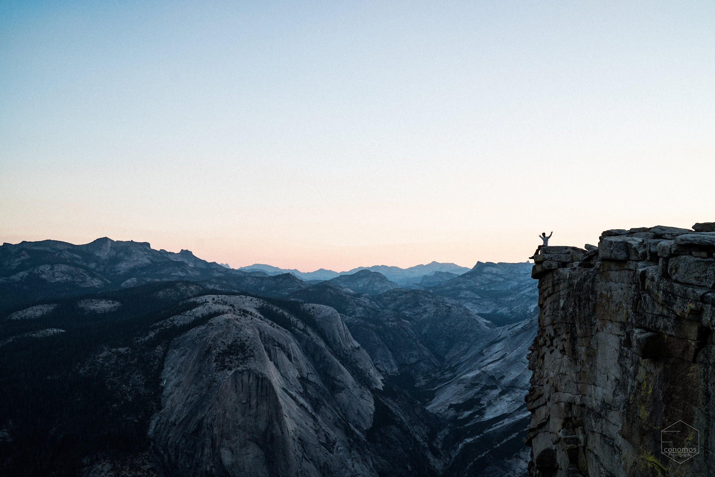 Yours truly on Half Dome, Yosemite