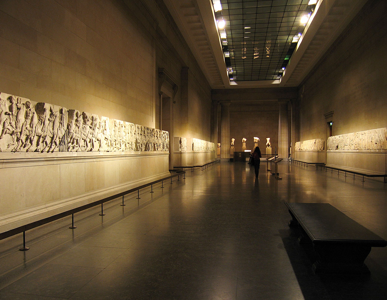 The Elgin Marbles at the British Museum in London