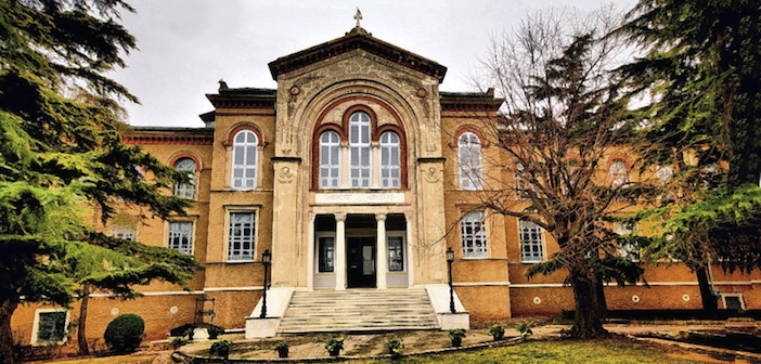 Halki Seminary on Heybeliada Island, Turkey