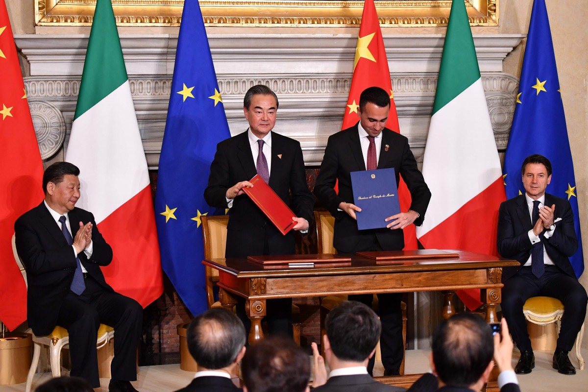 Italy became the first Western European country to sign on to the Belt and Road initiative