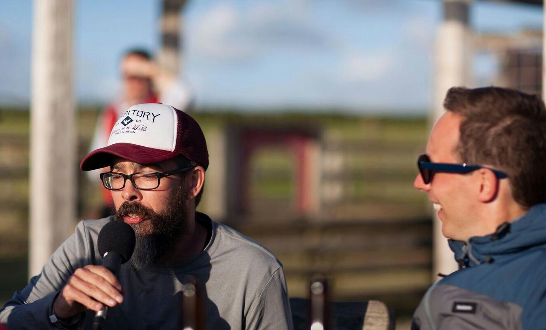 'Evil' Gordon (left) and Matt Lane (right) from BeerBods