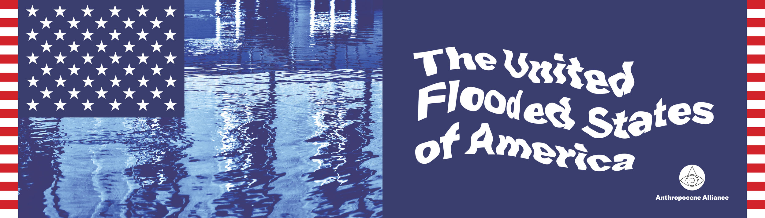 Banner for the United Flooded States of America campaign.