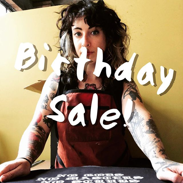 ✨✨BIRTHDAY SALE✨✨ To celebrate my 30th revolution around the sun, the ENTIRE WEBSITE is 30% off.  Discount is applied automatically at checkout. No coupon needed!