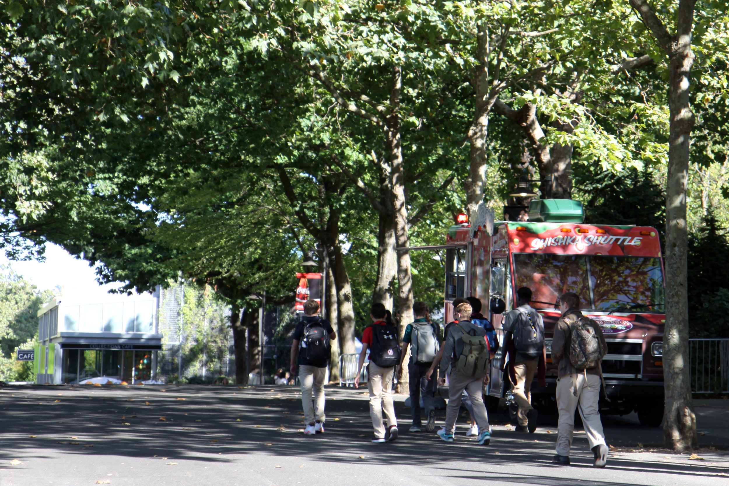 Seattle Center food truck