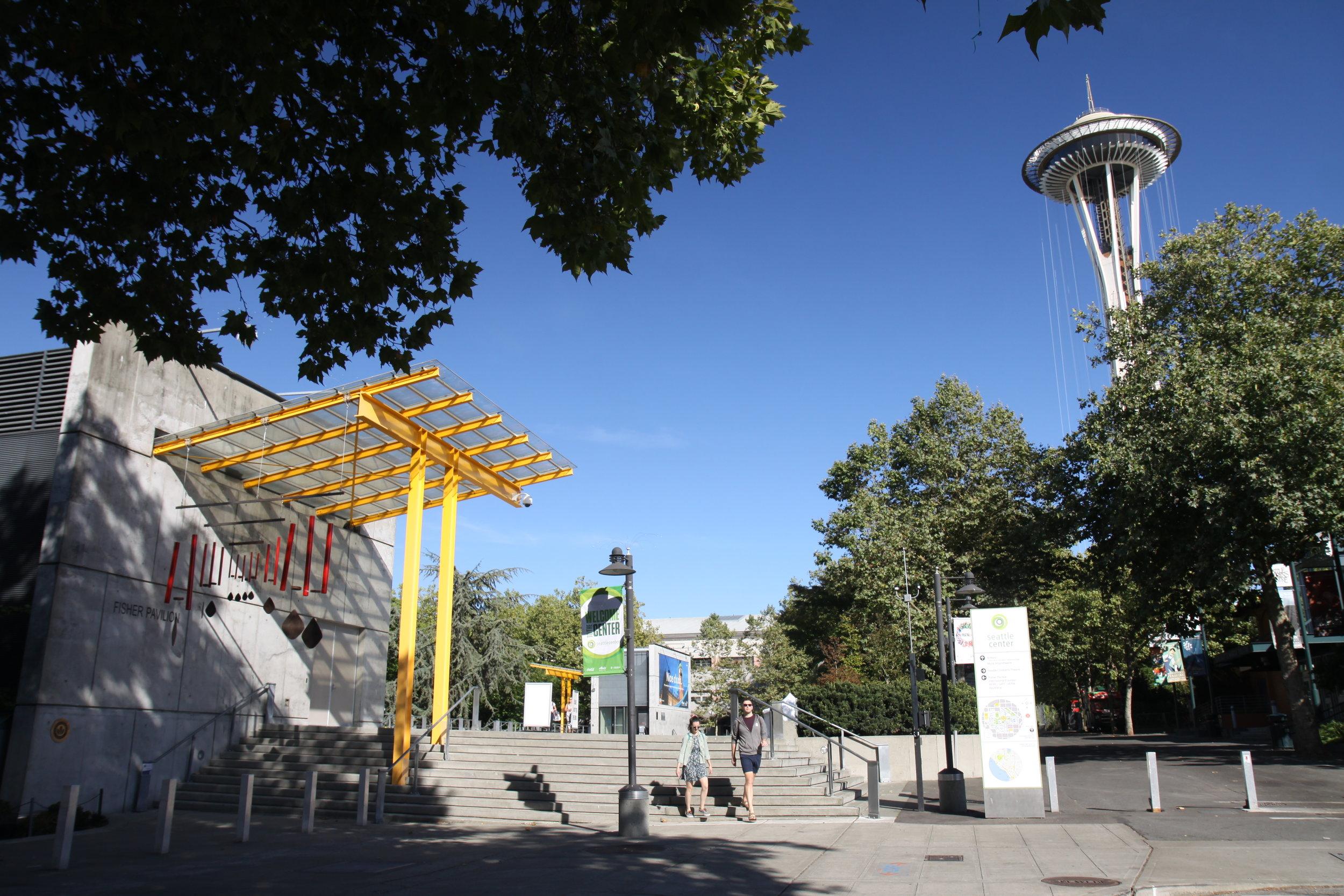 Seattle Center Fisher Pavilion