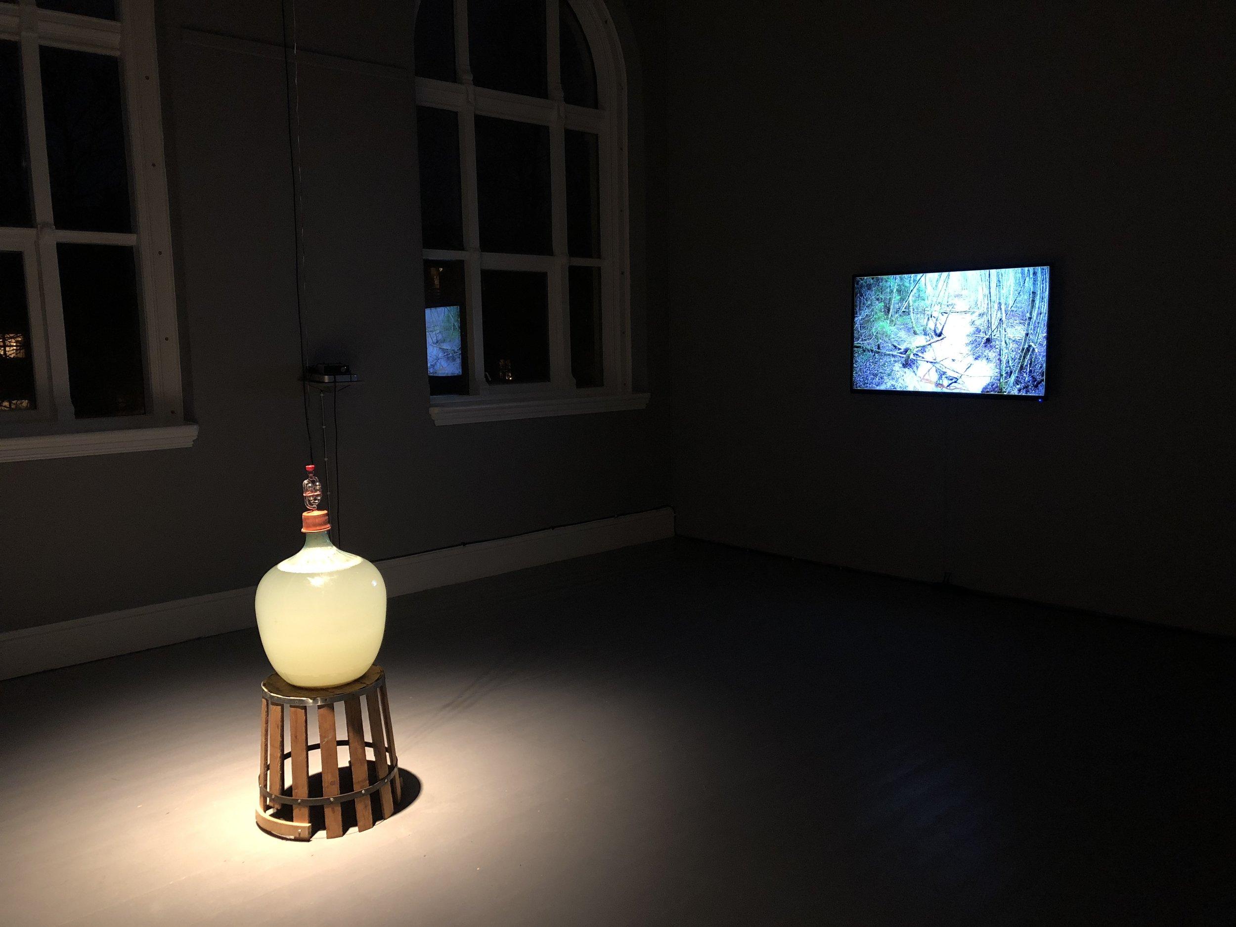 Holsbekken  (2018) av Søssa Jørgensen og Geir Tore Holm. Foto: Hilde Sørstrøm