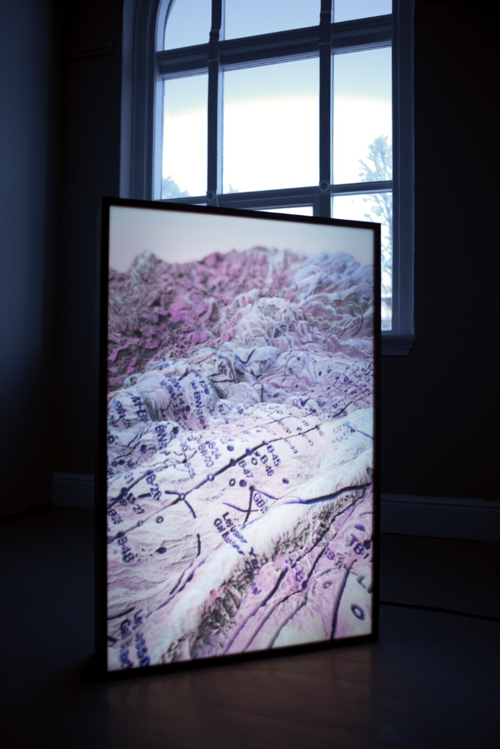 Del av  Pressure Point Acupuncture  (2019) av New Mineral Collective. Foto: Vsevolod Kovalevskij/Tromsø Kunstforening