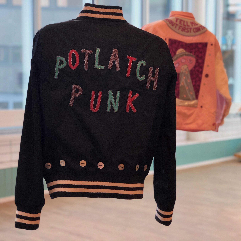 Potlatch Punk (2016) by Whess Harman