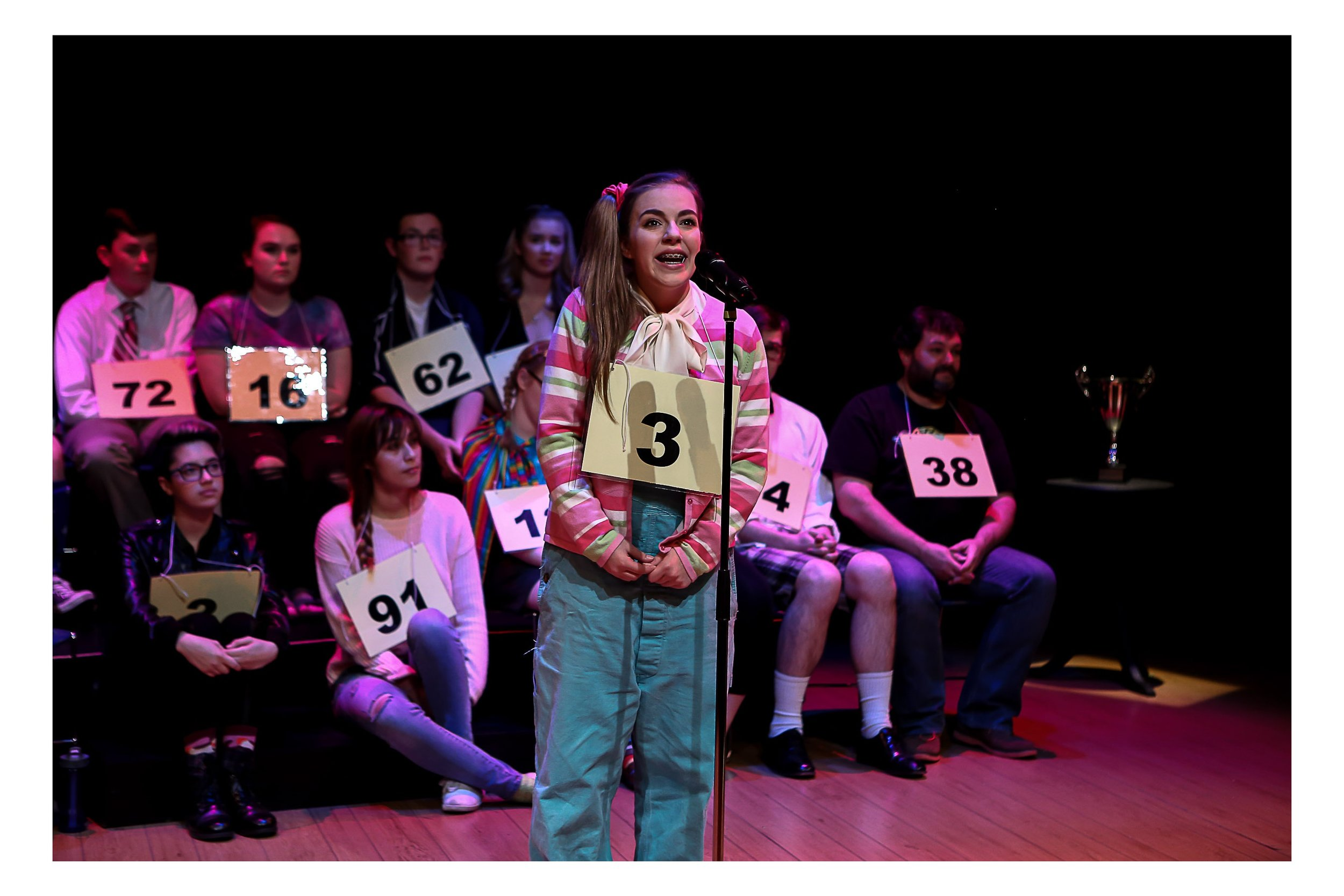 Everett High School - Putnam County Spelling Bee, 2015