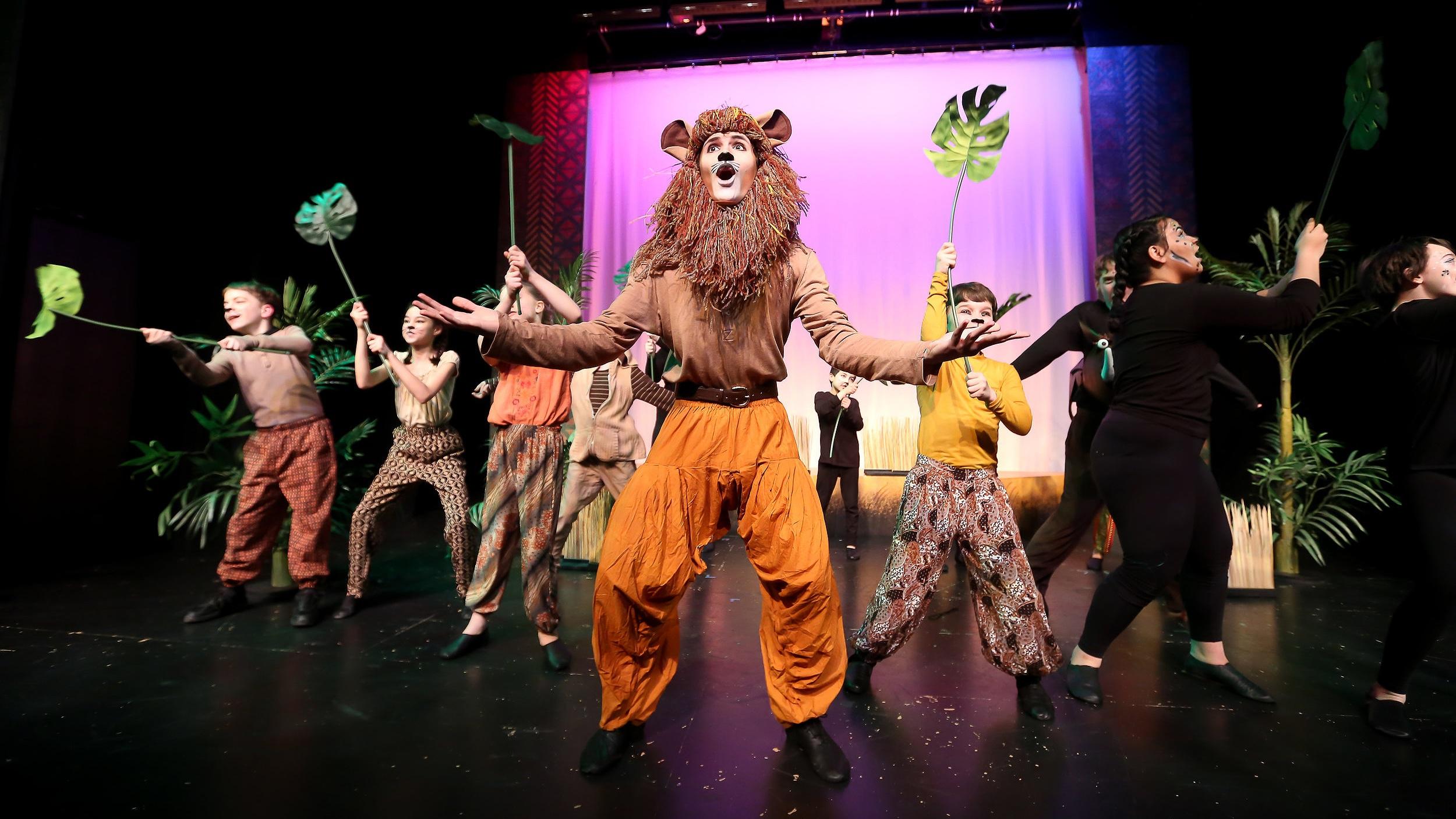 KIDSTAGE Everett - Lion King jr., 2017